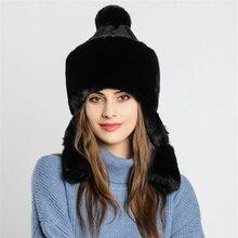 Новое поступление женские мужские зимние уличные теплые ворсистый флис шляпа искусственный меховые наушники Лыжная Кепка толстый бомбер шапки повседневные женские шапки