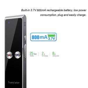 Image 3 - Kebidumei T8 + traductor de voz en tiempo Real instantáneo inteligente portátil Multi idioma 40 + traductor de voz de traducción de idiomas