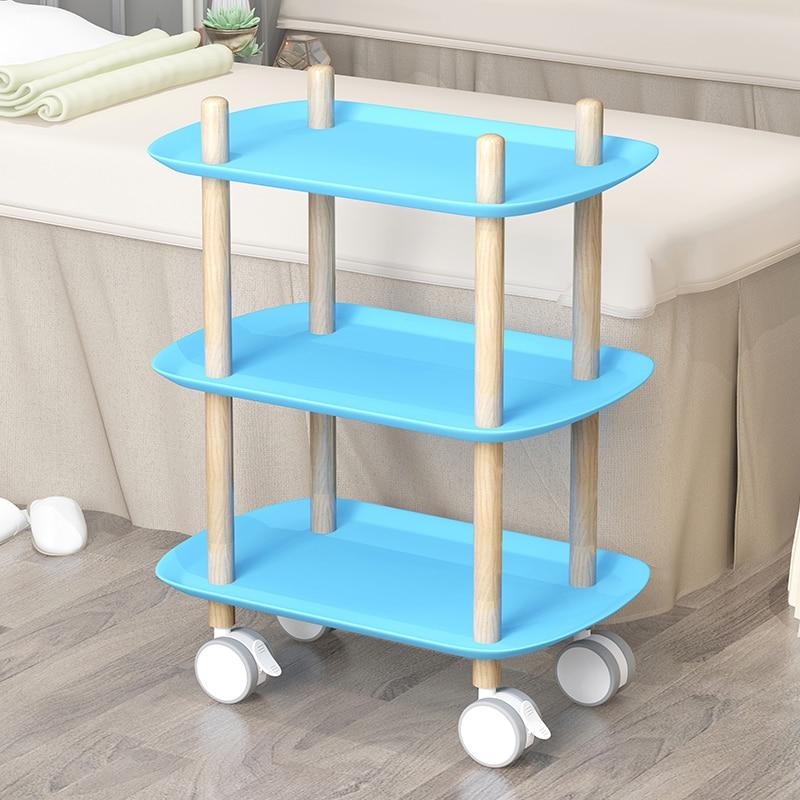 Beauty Parlor Mobile Cart Nail Salon Beauty Storage Multifunctional Cart Rack