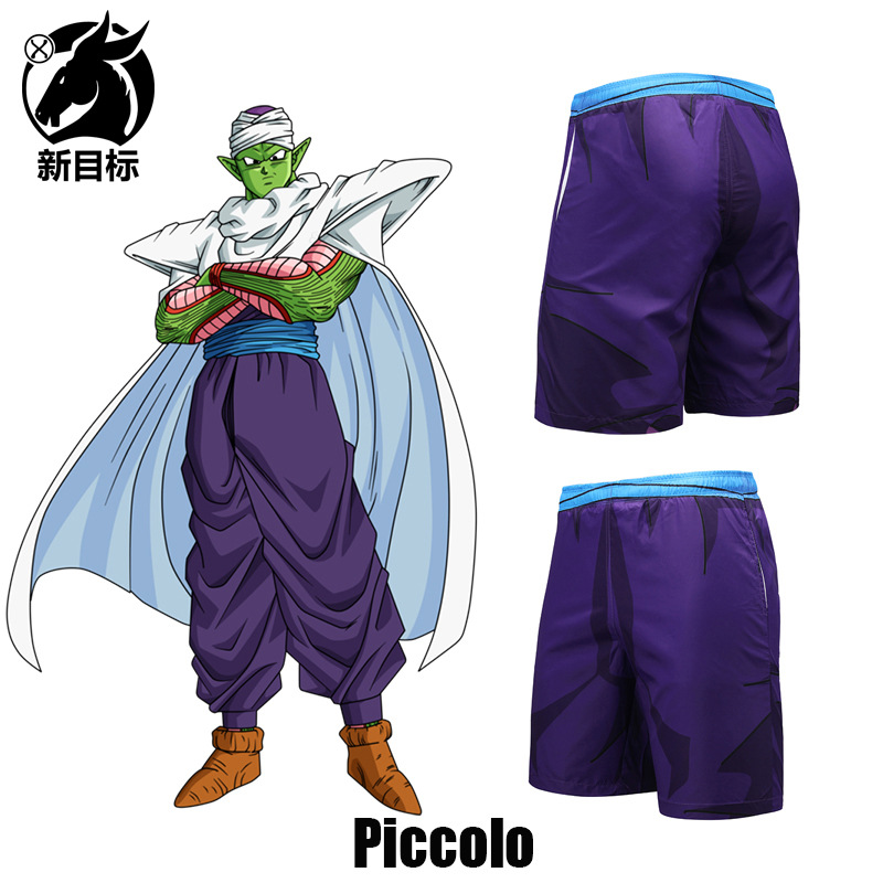 AliExpress Swimming Trunks 2019 Summer Wear New Style Anime Dragon Ball Magic Children 3D Printed Beach Shorts Fashion Brand Sho