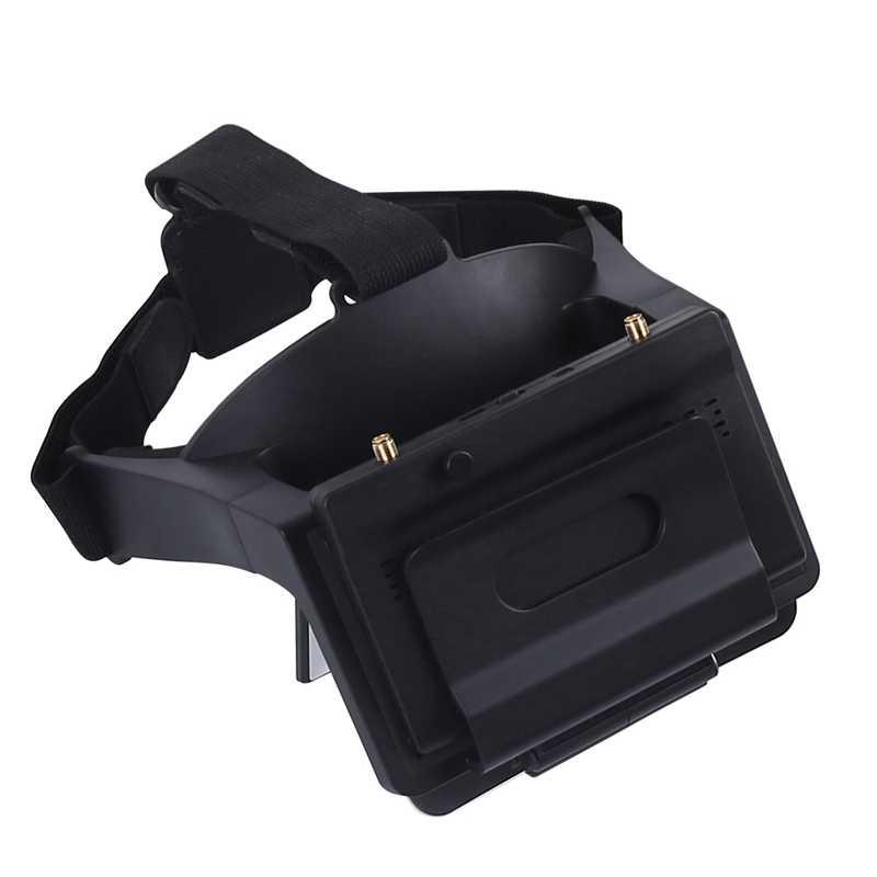 Fpv очки головной убор Ar очки ж/маленький пилот 5 дюймов Fpv монитор приемник для близорукости встроенный рефрактор для радиоуправляемого дрона