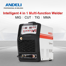 ANDELI Smart Single Phase MIG/CUT/TIG/MMA 4 in 1 Multi-function Welding Machine  Inverter Welding Machine  Welder