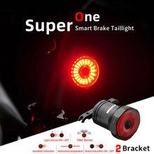 Meroca wr15 luzes traseiras da bicicleta sensor inteligente luzes de freio carga usb mountain road bike mtb mx2 traseira ciclismo lâmpada