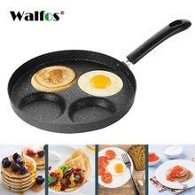 Walfos Нелипкая сковородка для жарки 4 шт посуда Сковорода Яйцо