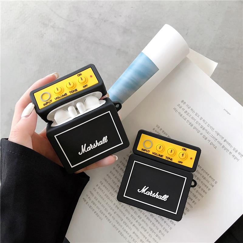 For Huawei Freebuds 3 Case Radio BB Machine Soft Earphone Cover Fundas For Freebuds Free Buds 3 Kawaii Soft Case YGK