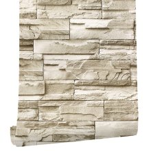 BEST6M de 3D de pegatina de Rock papel adhesivo pegatinas de pared para muebles(China)