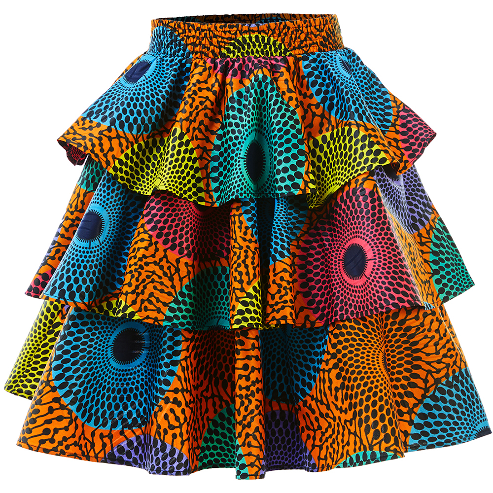 African Women Clothes Ankara Skirt African Skirt Fashion Skirt Wax Print African Traditional Clothies Ankara Dashiki Skirt