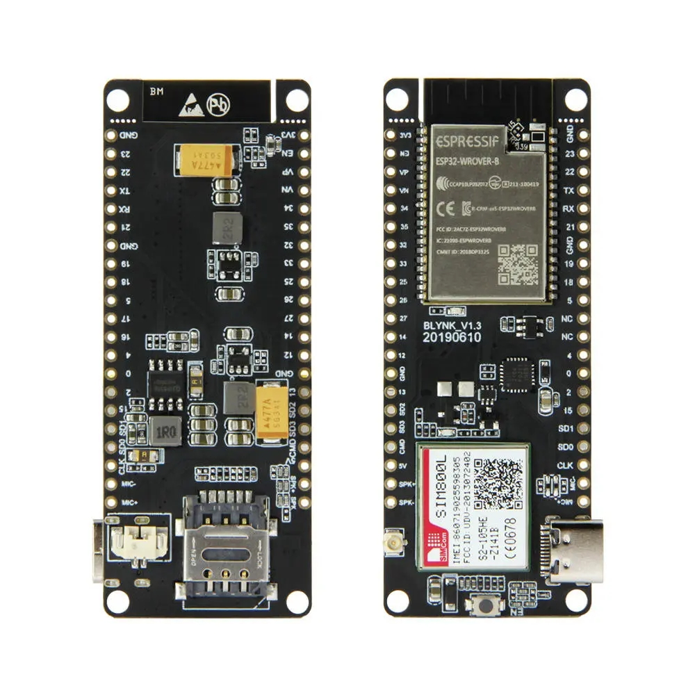 TTGO T-Call V1.3 ESP32 беспроводной модуль SIM антенна SIM-карта SIM800L Модуль и GSM/GPRS антенна для arduino