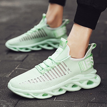 Casual-Shoes Sneakers Men's High-Quality New Trend Lace-Up Absorbing Marathon-Air-Cushion