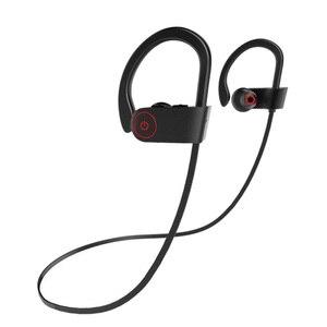 Słuchawki Bluetooth bezprzewodowe słuchawki sportowe Stereo Hd Sweatproof słuchawki douszne siłownia bieganie trening 8 godzin hałas baterii Canc