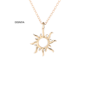 DISINIYA New Arrived Fashion Jewelry Silver Color Forever Summer Sun Chocker Necklace Pendant For Women Girl Q8513 image