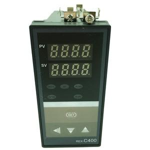 Image 2 - REX C400 termostato digital rkc pid controlador de temperatura termostato (ssr saída) + k tipo termopar + max 40a relé ssr