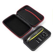 필립스 OneBlade 트리머 면도기 용 보호 상자 케이스 파우치 EVA 여행용 가방