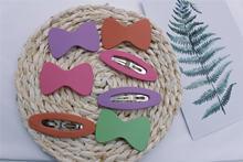 2 шт/набор весенне летние матовые аксессуары для волос с бантиком