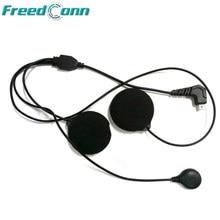 Freedconn T-COM vb sc colo macio fone de ouvido microfone para T-MAX T-REX capacete bluetooth intercom frete grátis!