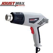 Joustmax 220 В пистолет горячего воздуха 2000 Вт двойной контроль