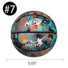 Баскетбольный мяч из микрофибры для мужчин и женщин, Официальный Размер 7, из искусственной кожи, для улицы и игр в помещении, тренировок, зан...