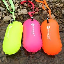 Safety Swimming Buoy Safety Float Air Dry Bag Inflatable Float Bag Lifesaving Swimming Diving Safety Signal Air Bag Inflate Ring