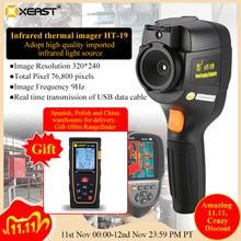2020 New HT19/HT18 Thermal imaging camera precision Floor heating leak detector High resolution 320x240 total Pixel 35200