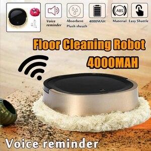 4000 мА/ч беспроводной домашний умный автоматический домашний уборочный аппарат, робот для уборки пола, умный робот-пылесос для дома