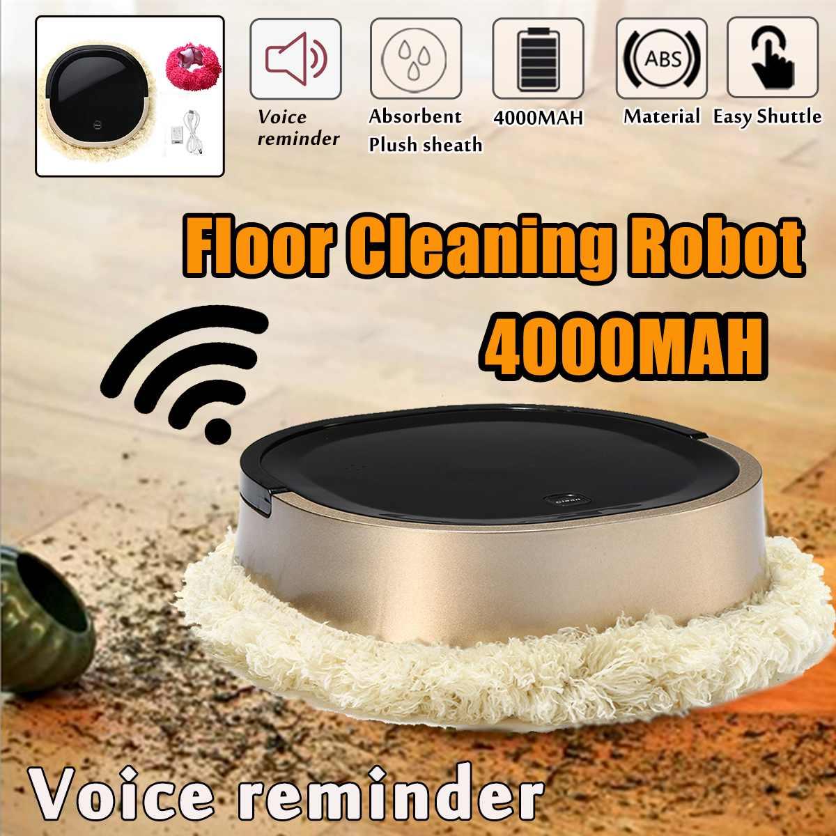 4000MAH sans fil ménage Intelligent automatique ménage Machine de nettoyage de sol Robot Intelligent Robot aspirateur maison