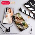 Чехол для телефона из закаленного стекла для Huawei P30 P20 Pro Lite Mate 30 pro Y9 P smart Plus 2019 Nova 4E 5i Honor 10i 20i 8X, индивидуальный Чехол