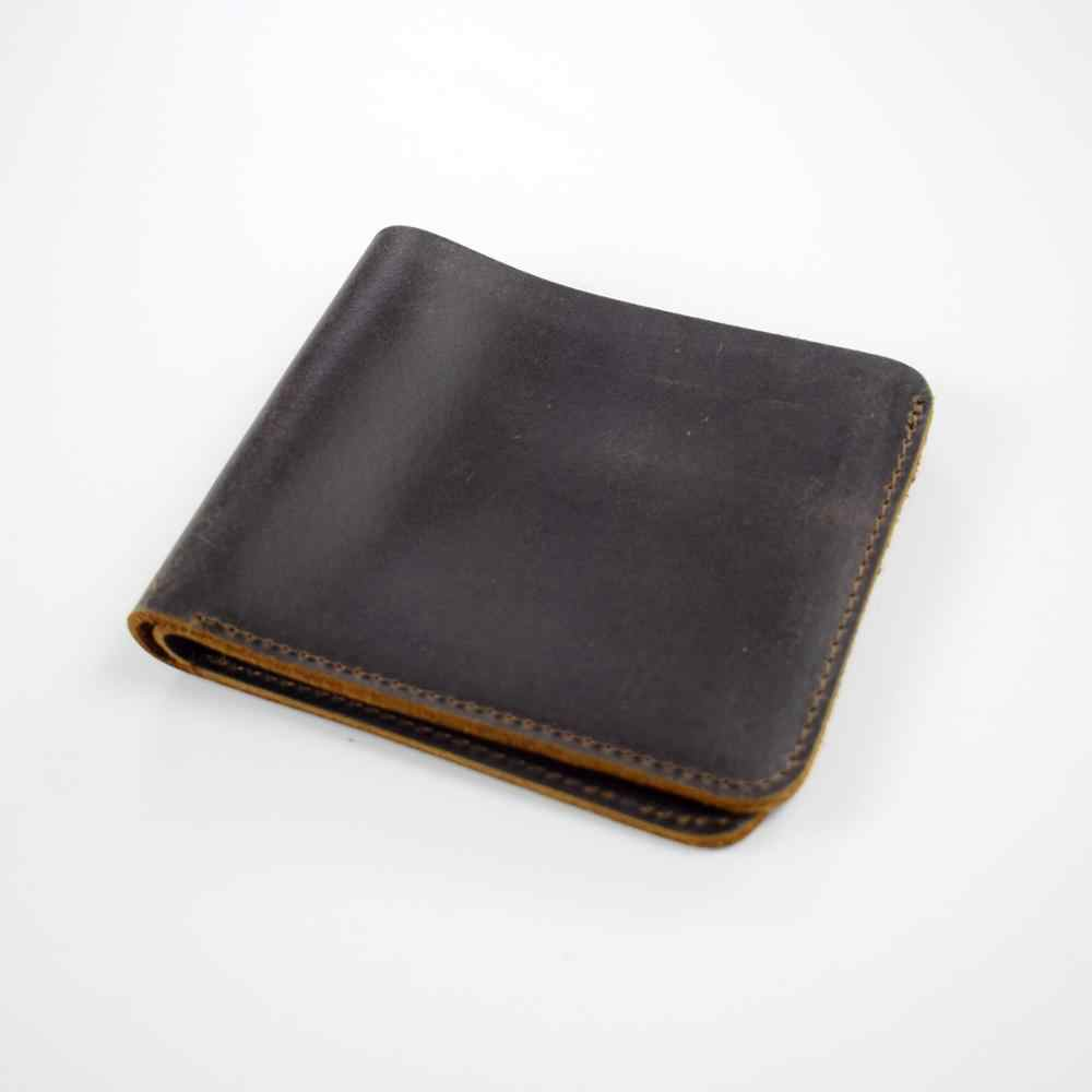 Leather Wallet Mens Leather Wallet With box! Wallet for men PERSONALIZED Minimalist Wallet Full handmade work Bifold wallet