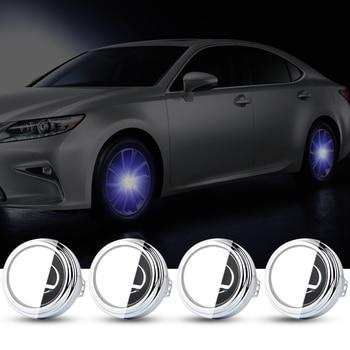 For LEXUS 62mm Hub Light Car Floating Illumination Energy Wheel Caps LED Light Wheel Center Cap Center Cover Lighting Cap Auto