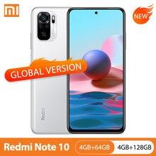 Global Versie Xiaomi Redmi Note 10 4Gb 64Gb/128Gb Mobiele Telefoon Snapdragon 678 6.43