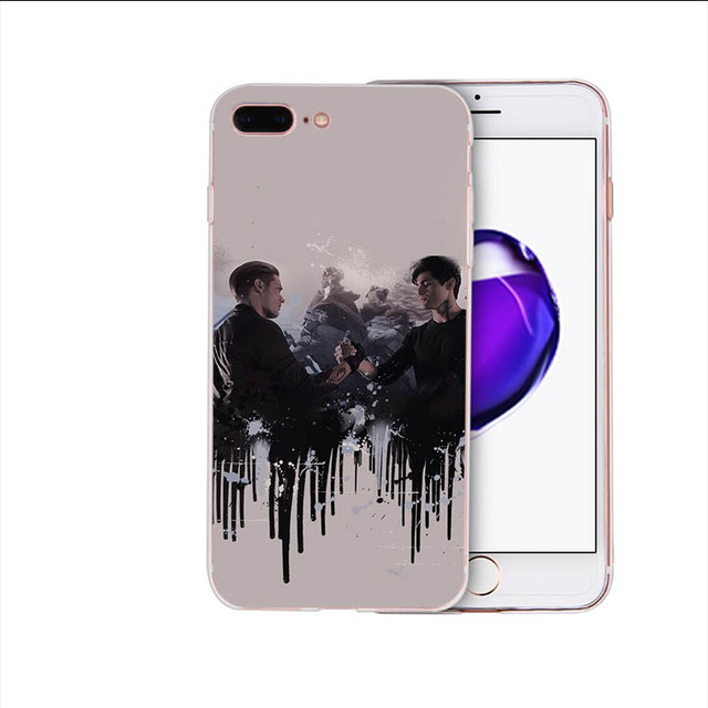 4000177068832 Pen Figures Inspired by Shadowhunters Phone Case Compatible With Iphone 7 XR 6s Plus 6 X 8 9 11 Phones Cases Pro XS Max Clear Iphones Cases TPU Rent Figures Coloring