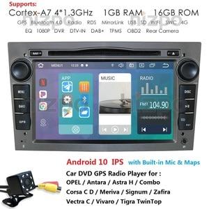 Android 10 2 DIN CAR DVD GPS Navi fit opel Vauxhall Astra H G J Vectra Antara Zafira Corsa Vivaro Meriva Veda Radio audio