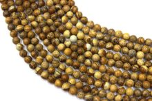Natural Picture Jaspers Round Loose Beads Strand 4/6/8/10/12/14MM For Jewelry DIY Making Necklace Bracelet