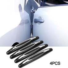 4 шт Автомобильная Противоударная полоса защита двери автомобиля
