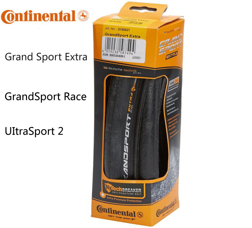 Continenta Grand Sport Extra/GrandSport course/UItra II pneu de vélo 700x23C 700 * 25C 700C cyclisme pli pneu de vélo de route pneu maxxi