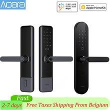 Aqara – serrure de porte intelligente N100 & N200, déverrouillage par empreinte digitale, Bluetooth, mot de passe, NFC, fonctionne avec l'application Mijia Mi Home HomeKit