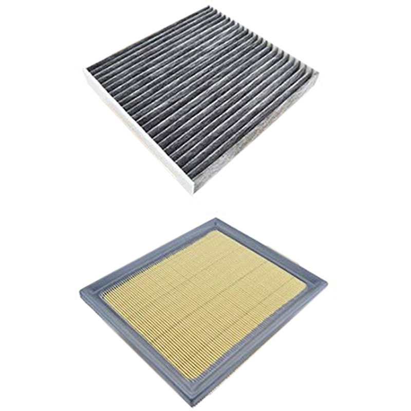 Carbon Cabin & Air Filter Combo for TOYOTA PRIUS 1.8L Engine 2015 2010|Air Filters|   - AliExpress