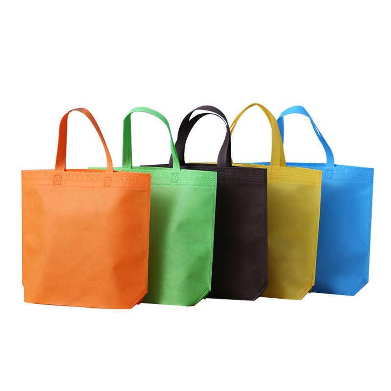 1Pc Vrouwen Mannen Herbruikbare Boodschappentas Grote Opvouwbare Tote Boodschappentassen Handige Opslag Shopper Bag Handtassen Winkel Tote