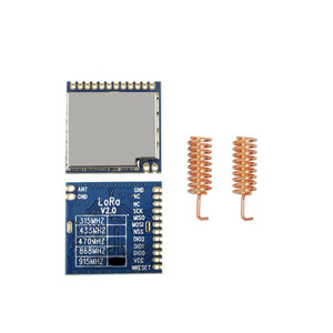 Image 2 - Módulo LoRa inalámbrico de RF de largo alcance, módulo LoRa1276 con certificado FCC de 868MHz, 915MHz, 100mW, sx1276, 2 unids/lote
