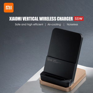 Image 4 - NEW Xiaomi 55W Wireless Charger Vertical Quick Charger Air cooled Wireless Charging Support Fast Charger For Xiaomi 10 Pro