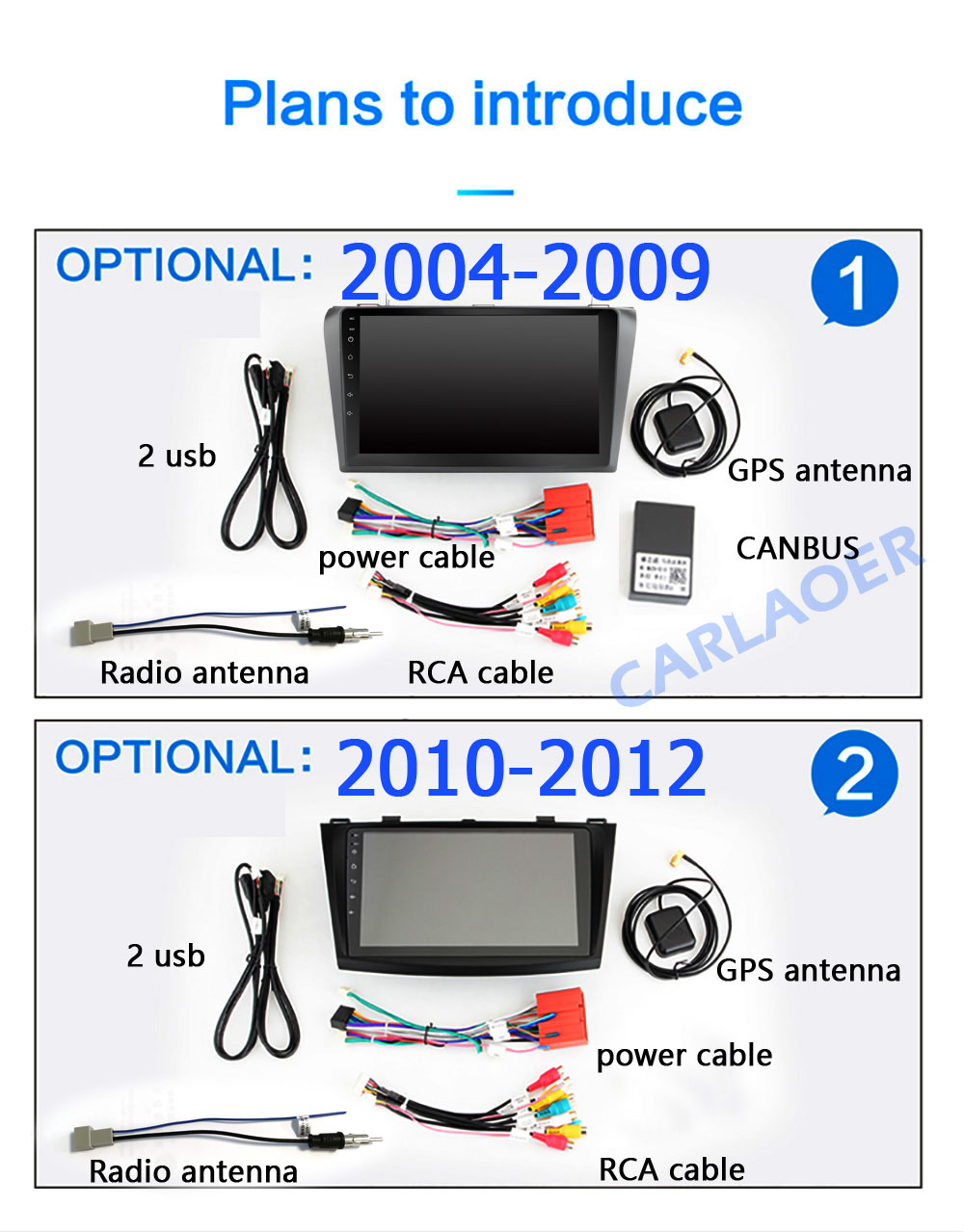 Image 5 - For Mazda 3 2004 2013 maxx axela android 8.1 Car DVD GPS Radio Stereo 1G 16G WIFI Free MAP Quad Core 2 din Car Multimedia Player-in Car Multimedia Player from Automobiles & Motorcycles