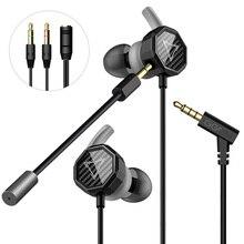 GGMM G1 auricular Deep Bass Gaming auricular con desmontable micrófono largo Gaming auriculares sonido claro para PUBG móvil ordenador Gamer