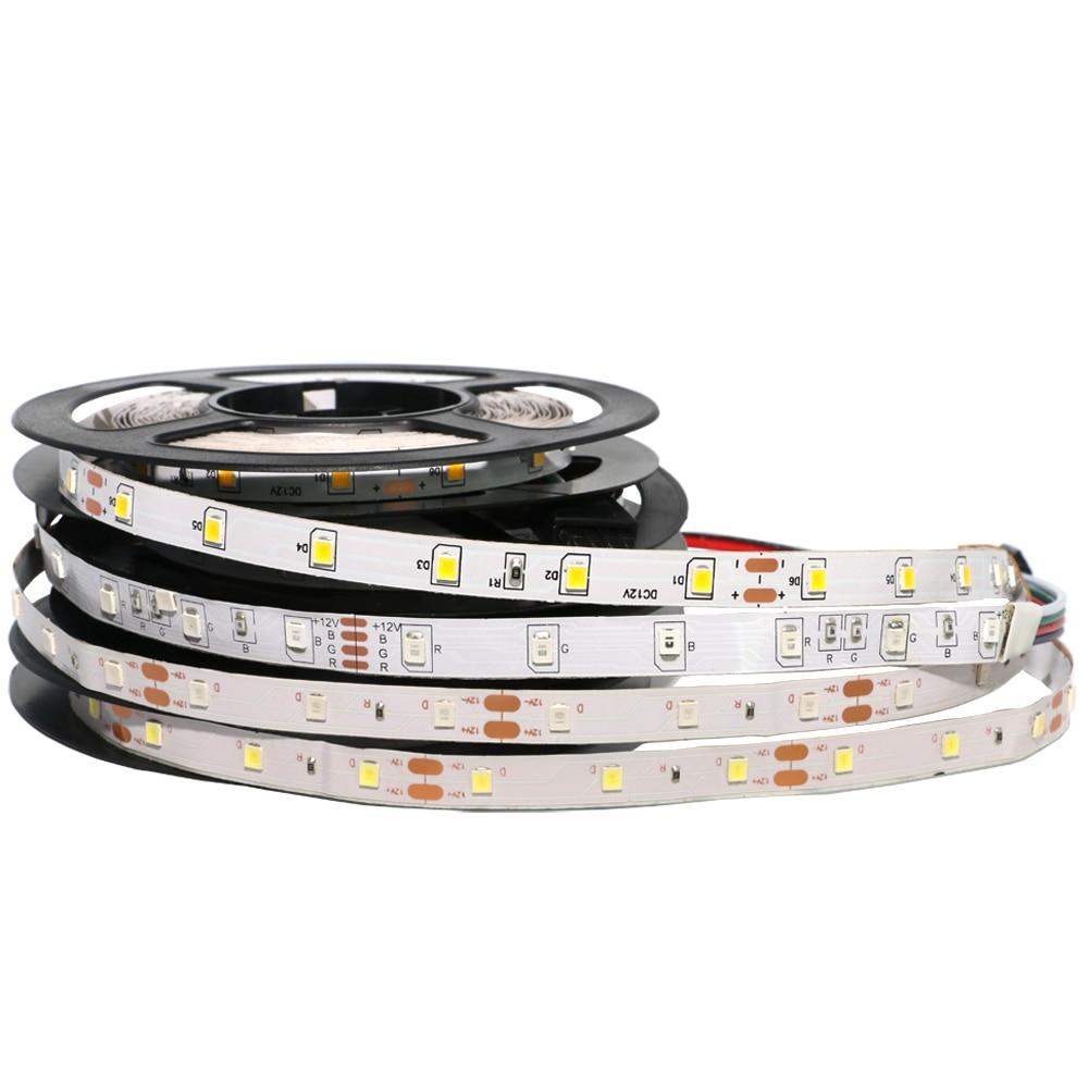 DC12V RGB LED Strip Light SMD5050 5630 3528 3014 2835 Fita Led String Ribbon Tape Bar Neon New Year Christmas Decoration Lampada