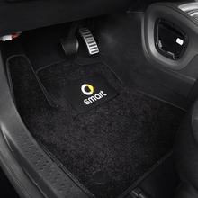 Foot-Pad Decoration-Accessories Interior Non-Slip-Mat Plush-Carpet Fortwo Protect Mercedes