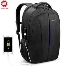 Tigernu marka 15.6 cala z zabezpieczeniem przeciw kradzieży plecak na laptopa plecaki damskie torba podróżna moda plecak szkolny damski dla nastoletnich wodoodpornych