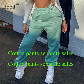 (Set And Pants Are Sold Separately) Tracksuit Women's Sports Suit Sweatshirt And Sweatpants Jogging Femme 2 Pieces Set Sweatsuit 3