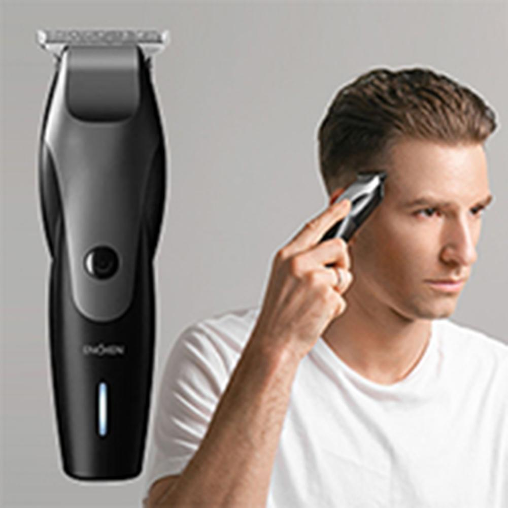 ENCHEN Hummingbird Electric Rechargeable Low Noise Haircut Hair Clipper Kit Ultrathin Cutter Head Help To Shave Your Head Easily