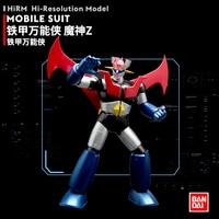 BANDAI 1/144 Metal Plating Color MAZINGER Z Original Assembly Model 17cm Action Toy Figures
