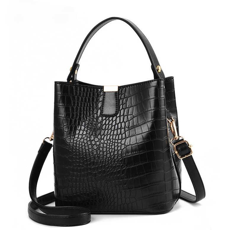 Дизайнерская Женская сумка через плечо, роскошный саквояж из искусственной кожи крокодила, кросс-боди, мешок, мессенджер