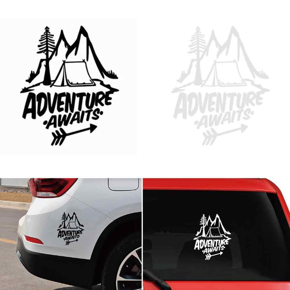 20 18cm Stickers On Cars Pine Tree Travel Mountains Vinyl Sticker Car Accessories Auto Bumper Sticker For Volkswagen For Audi A3 Car Stickers Aliexpress [ 1000 x 1000 Pixel ]