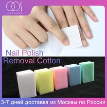 700Pcs/Pack cotton Wipes Napkins for Wipes Nail Polish Remover Lint-Free Paper Pad Manicure Pedicure Gel Remover Manicure tool